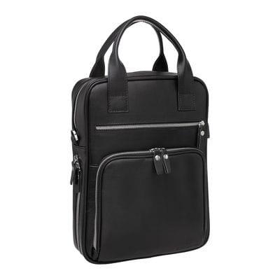 Деловая сумка вертикальная Waley Black