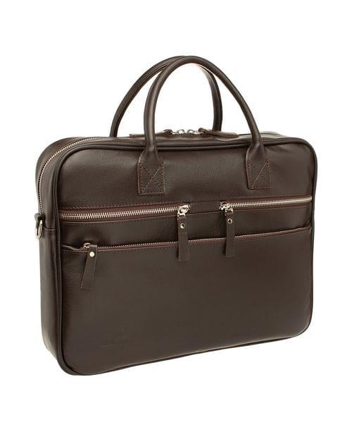 Деловая сумка Bacton Brown