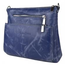 Кожаная женская сумка Vigliano blue (арт. 8031-07)