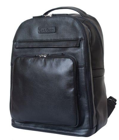 Кожаный рюкзак Montegrotto black (арт. 3022-01)