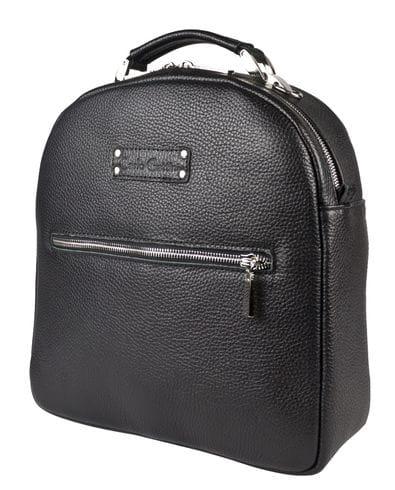Кожаный рюкзак Arcello black (арт. 3083-01)