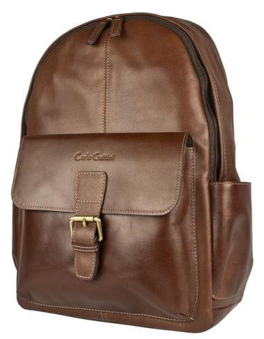 Кожаный рюкзак Mantovano brown (арт. 3078-02)