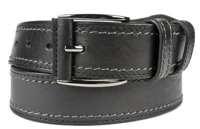 Кожаный ремень Montalbo black (арт. 9007-81)
