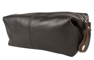 Кожаный несессер Colliano brown (арт. 6009-04)