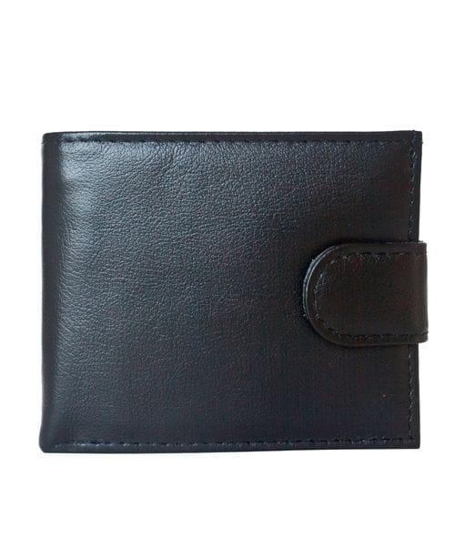 Кожаное портмоне Arrone black (арт. 7411-01)