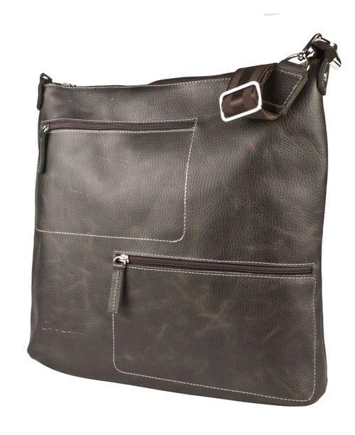Кожаная мужская сумка Bricco brown (арт. 5051-04)