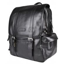 Кожаный рюкзак Montalbano black (арт. 3097-01)
