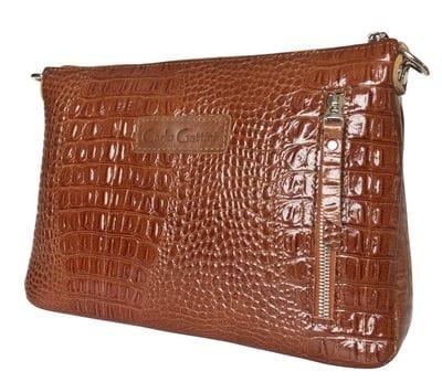 Кожаная женская сумка Lavello brown (арт. 8005-03)