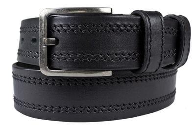 Кожаный ремень Folcata black (арт. 9052-01)