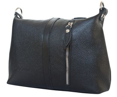 Кожаная женская сумка Aviano black (арт. 8011-01)