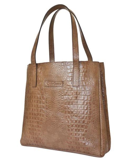 Кожаная женская сумка Vietto biege (арт. 8008-13)