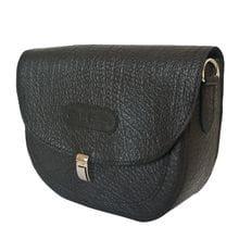 Кожаная женская сумка Amendola black (арт. 8003-81)
