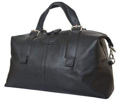 Кожаная дорожная сумка Ardenno black (арт. 4013-01)