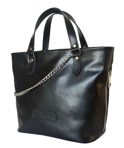 Кожаная женская сумка Martella black (арт. 8020-01)