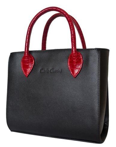 Кожаная женская сумка Sabbina black (арт. 8022-01)