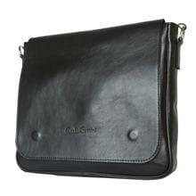 Кожаная мужская сумка Bolviso black (арт. 5037-01)