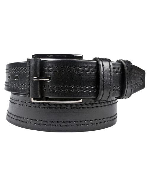 Кожаный ремень Vetriolo black (арт. 9026-01)
