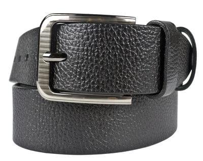 Кожаный ремень Vicende black (арт. 9015-01)