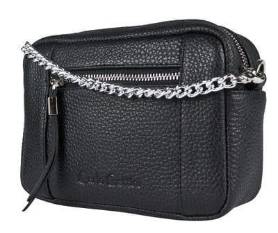Кожаная сумка Pilati black (арт. 7014-01)