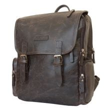 Кожаный рюкзак Santerno brown (арт. 3007-04)