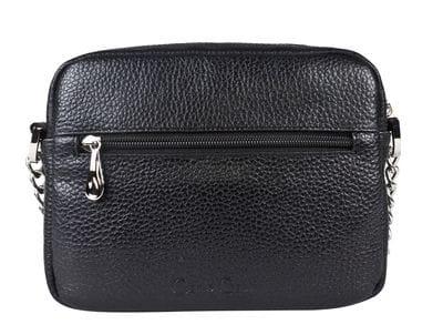 Кожаная женская сумка Isola black (арт. 8034-01)