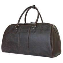 Кожаная дорожная сумка Normanno brown (арт. 4007-02)