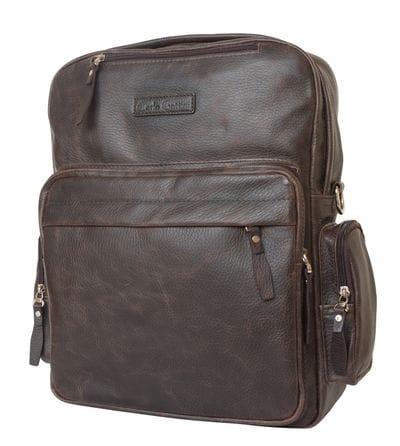 Кожаная сумка-рюкзак Reno brown (арт. 3001-04)