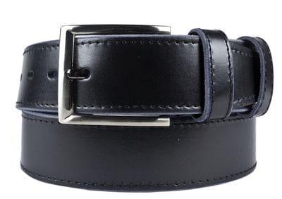 Кожаный ремень Valeriano black (арт. 9037-01)