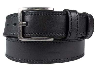 Кожаный ремень Seliano black (арт. 9053-01)