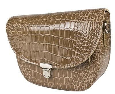 Кожаная женская сумка Amendola biege (арт. 8003-13)