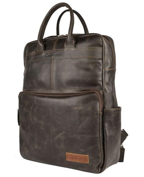 Кожаная сумка-рюкзак Taranto brown (арт. 3094-04)