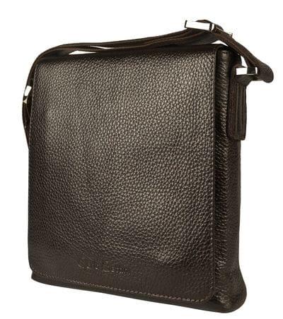 Кожаная мужская сумка Vallecorsa brown (арт. 5044-04)