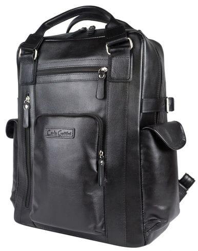 Кожаный рюкзак Corruda black (арт. 3092-01)