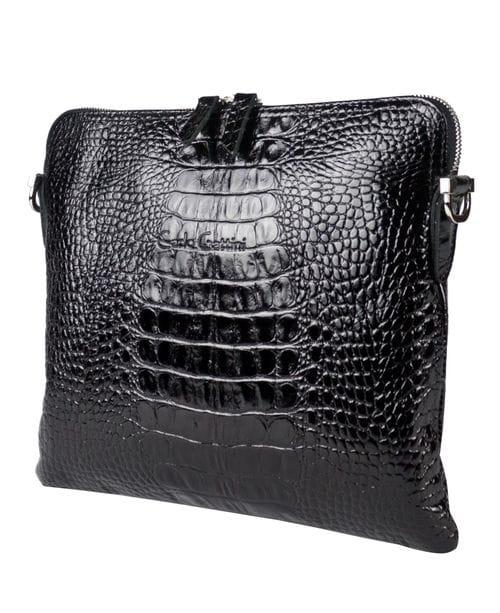 Кожаная женская сумка Fiorita black (арт. 8029-01)