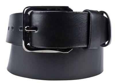 Кожаный ремень Tomaso black (арт. 9038-01)