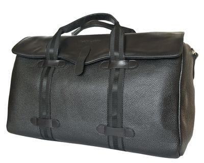 Кожаная дорожная сумка Mondragone black (арт. 4027-01)
