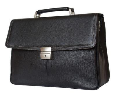 Кожаный портфель Altori black (арт. 2010-01)