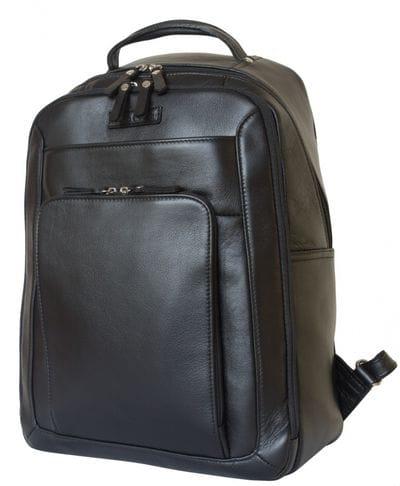 Кожаный рюкзак Montemoro black (арт. 3044-01)