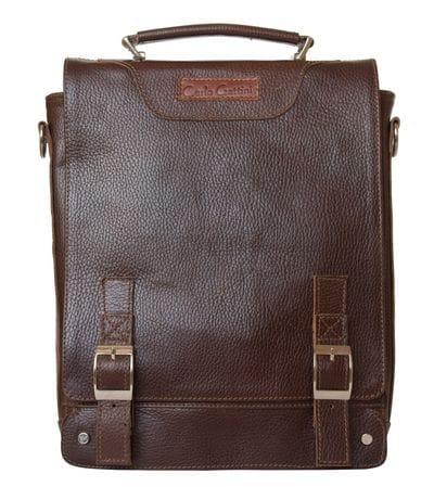 Кожаный портфель Torrano dark terracotta (арт. 2013-94)