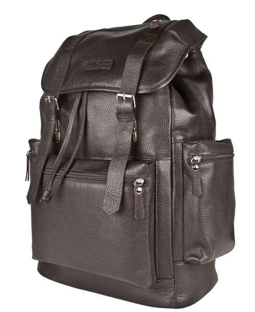 Кожаный рюкзак Voltaggio brown (арт. 3091-04)