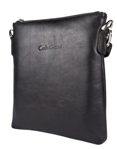 Кожаная мужская сумка Corneto black (арт. 5047-01)