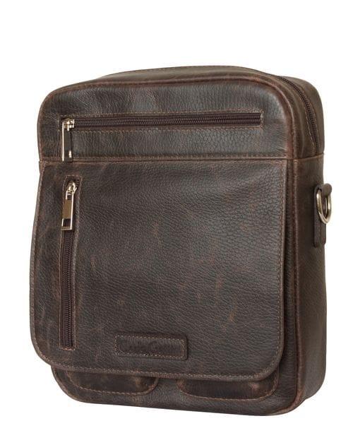 Кожаная мужская сумка Tanaro brown (арт. 5015-04)