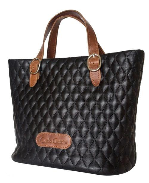 Кожаная женская сумка Carolina black (арт. 8023-01)