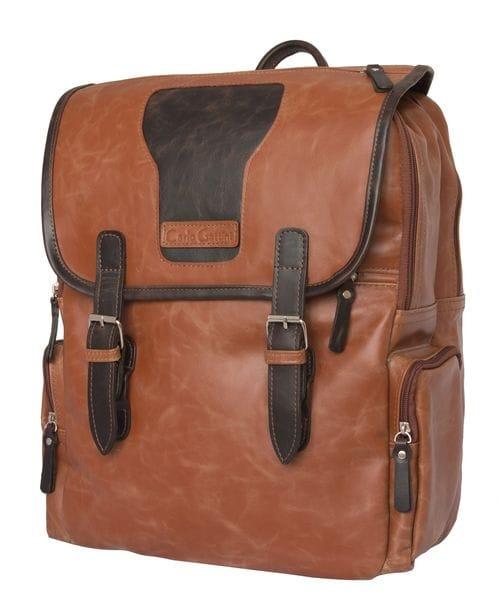 Кожаный рюкзак Santerno cognac/brown (арт. 3007-03)