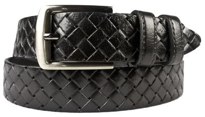 Кожаный ремень Scansano black (арт. 9044-01)
