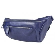 Кожаная мужская сумка Bertiolo blue (арт. 5053-07)