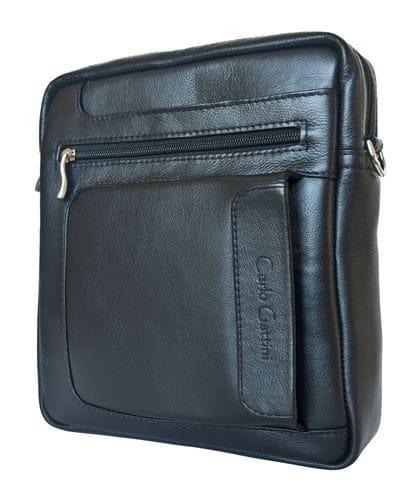 Кожаная мужская сумка Ceprano black (арт. 5045-01)