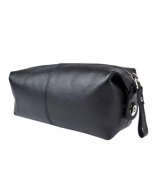 Кожаный несессер Colliano black (арт. 6009-01)