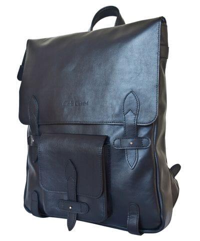 Кожаный рюкзак Arma dark blue (арт. 3051-19)