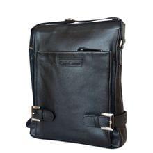 Кожаная мужская сумка Guratti black (арт. 5036-01)